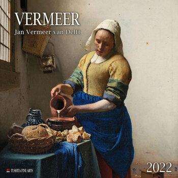 Calendário 2022 Jan Vermeer van Delft