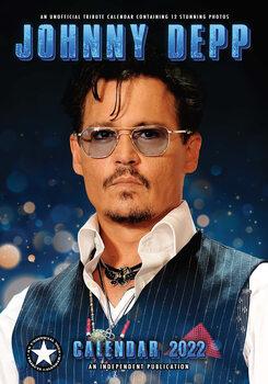 Calendário 2022 Johnny Depp