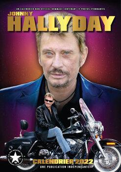 Calendário 2022 Johnny Hallyday