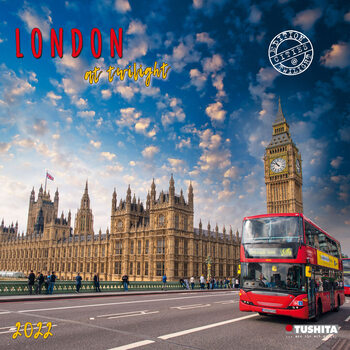 Calendário 2022 London at Twilight