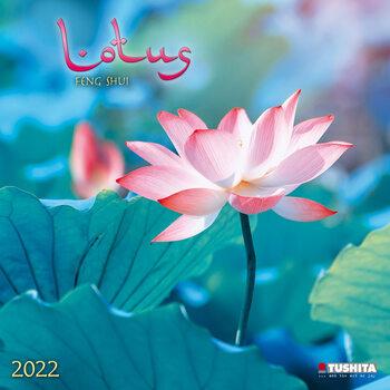 Calendário 2022 Lotus Feng Shui