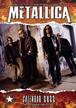 Calendário 2022 Metallica