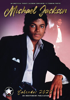 Calendário 2022 Michael Jackson