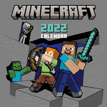 Calendário 2022 Minecraft