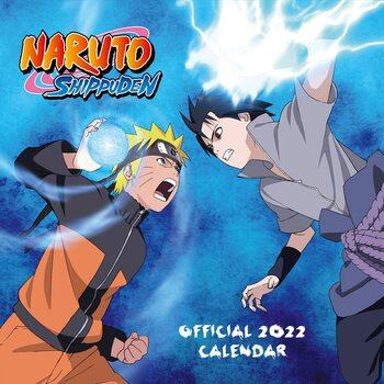 Calendário 2022 Naruto Shippuden