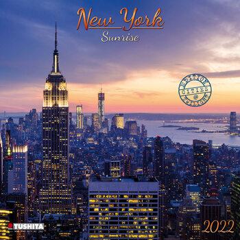 Calendário 2022 New York Sunrise