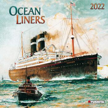 Calendário 2022 Oceanliners