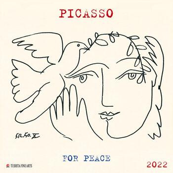 Calendário 2022 Pablo Picasso - War and Peace