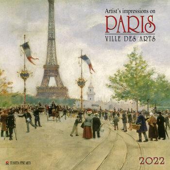 Calendário 2022 Paris - Ville des Arts