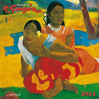 Calendário 2022 Paul Gaugin - Paradise Lost
