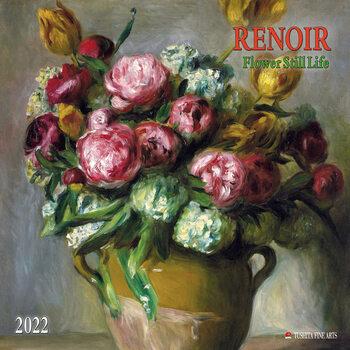 Calendário 2022 Renoir - Flowers Still Life