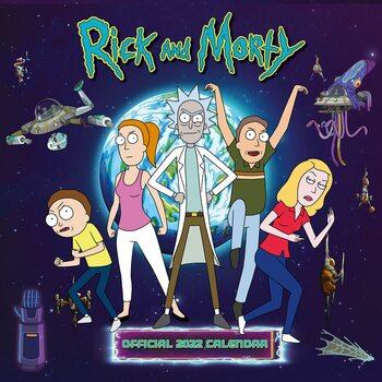Calendário 2022 Rick & Morty