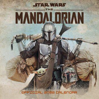 Calendário 2022 Star Wars: The Mandalorian
