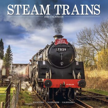 Calendário 2022 Steam Trains