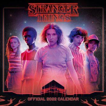Calendário 2022 Stranger Things