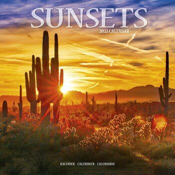 Calendário 2022 Sunsets