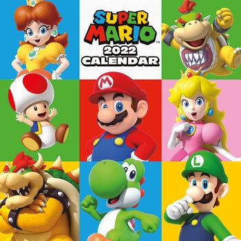 Calendário 2022 Super Mario