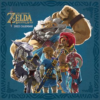 Calendário 2022 The Legend of Zelda