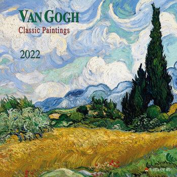 Calendário 2022 Vincent van Gogh - Classic Works