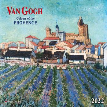 Calendário 2022 Vincent van Gogh - Colors of the Provence