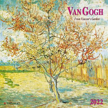 Calendário 2022 Vincent van Gogh - From Vincent's Garden