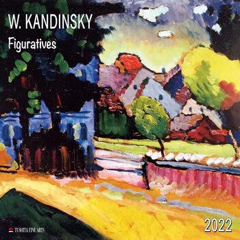 Calendário 2022 Wassily Kandinsky - Figuratives