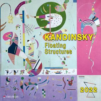Calendário 2022 Wassily Kandinsky - Floating Structures