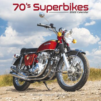 Calendar 2022 70s Superbikes