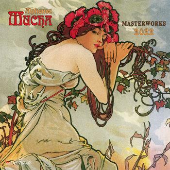 Calendar 2022 Alphonse Mucha - Poster Art