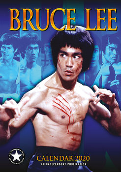 Calendar 2020 Bruce Lee