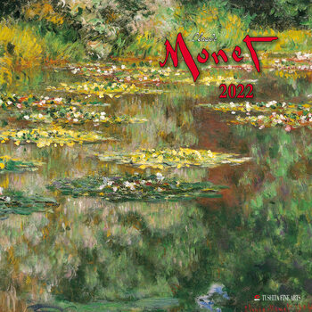Calendar 2022 Claude Monet