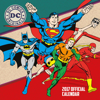 Calendar 2022 DC Comics