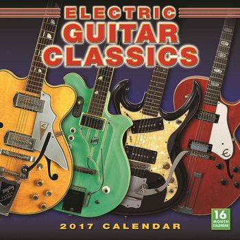 Calendar 2017 Electric Guitar