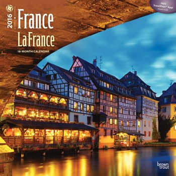 Calendar 2022 France - La France