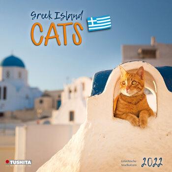 Calendar 2022 Greek Island Cats