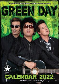 Calendar 2022 Green Day