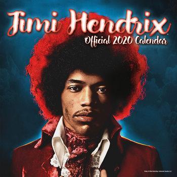 Calendar 2020 Jimi Hendrix