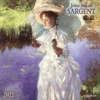 Calendar 2022 John Singer Sargent