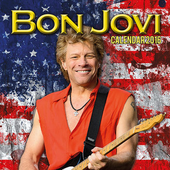 Calendar 2016 Jon Bon Jovi