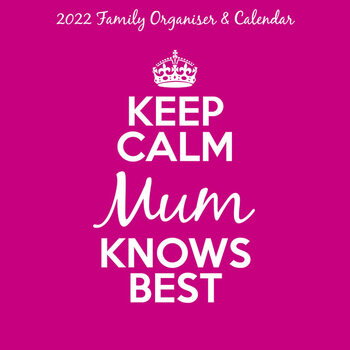 Calendar 2022 Keep Calm