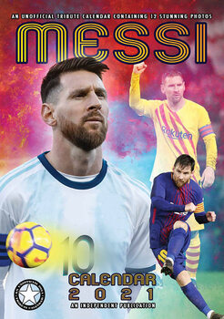 Calendar 2021 Lionel Messi