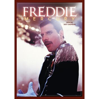 Calendar 2021 Queen - Freddie Mercury