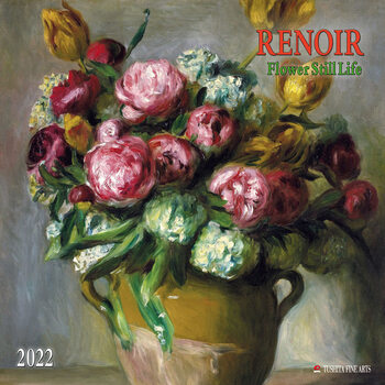 Calendar 2022 Renoir - Flowers Still Life