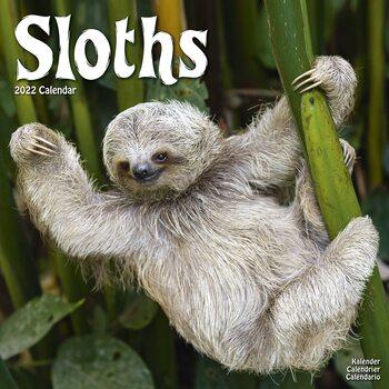 Calendar 2022 Sloths