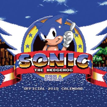 Calendar 2022 Sonic