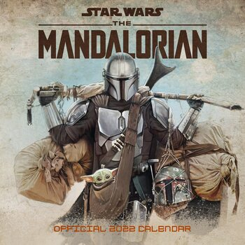 Calendar 2022 Star Wars: The Mandalorian