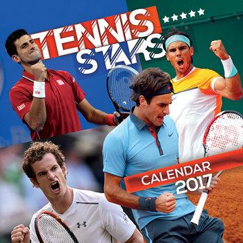 Calendar 2017 Tennis - Stars