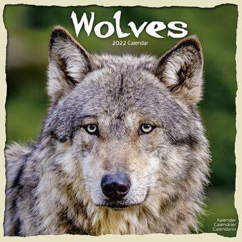 Calendar 2022 Wolves