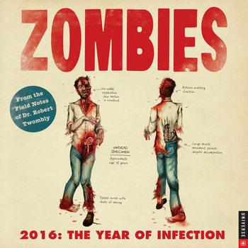 Calendar 2022 Zombie