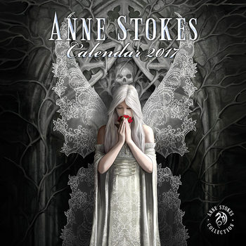 Anne Stokes Calendrier 2017